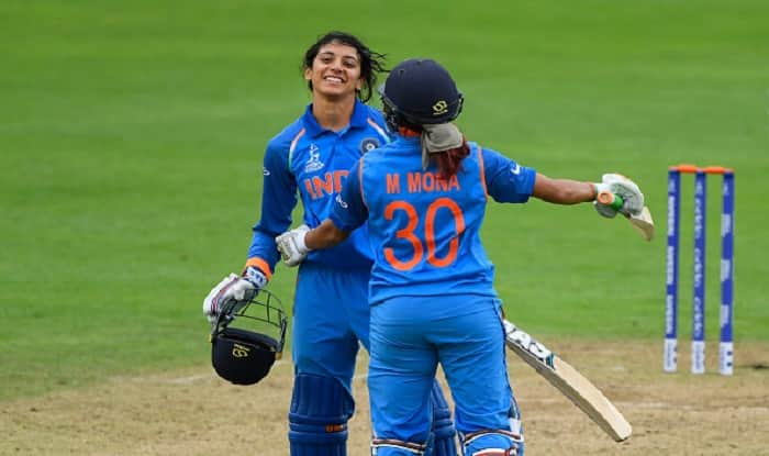 Women's World Cup: India beat West Indies by 7 wickets to move to top of points table, Smriti Mandhana scores unbeaten century