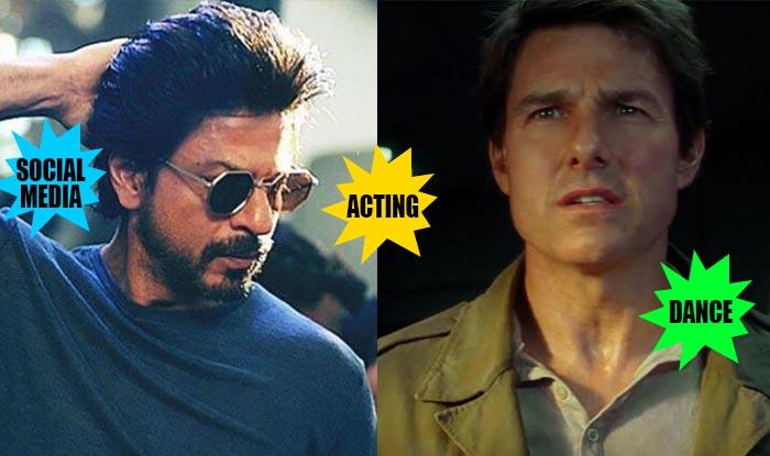 Shah Rukh Khan beats Tom Cruise in acting, dancing and social media skills according to this video