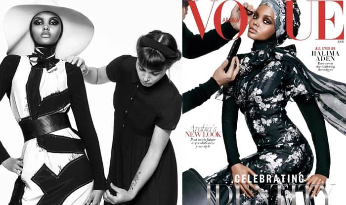 Halima Aden scripts history as first hijab-wearing model on Vogue's latest cover