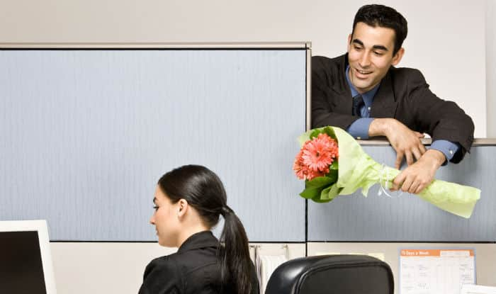 Here are 5 tips for dating someone at your workplace