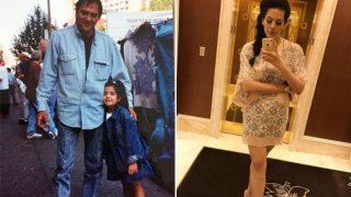 trishala dutt shared emotional message on instagram | संजय दत्त की बेटी हुई इमोशनल, सोशल मीडिया पर शेयर की कई साल पुरानी तस्वीर