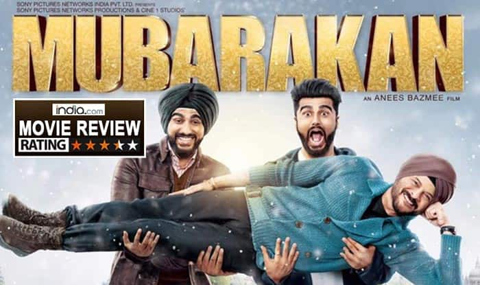 Mubarakan Movie Review: Thanks To Anil Kapoor and Arjun Kapoor, Bollywood Finally Gets Its First Family Entertainer Of 2017