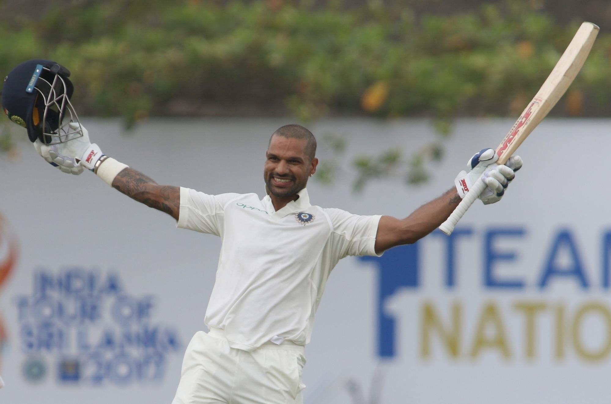 India vs Sri Lanka 1st Test 2017: Shikhar Dhawan, Cheteshwar Pujara Shine as Visitors Take Honours on Day 1