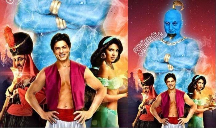 Shah Rukh Khan as Aladdin, Priyanka Chopra as Princess Jasmine, Sanjay Dutt as Jafar: This Instagrammer Has Got Indian Cast Just Right!