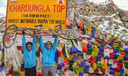Visually-impaired Divyanshu Ganatra to Lead in Manali to Khardung La Cycle Expedition!