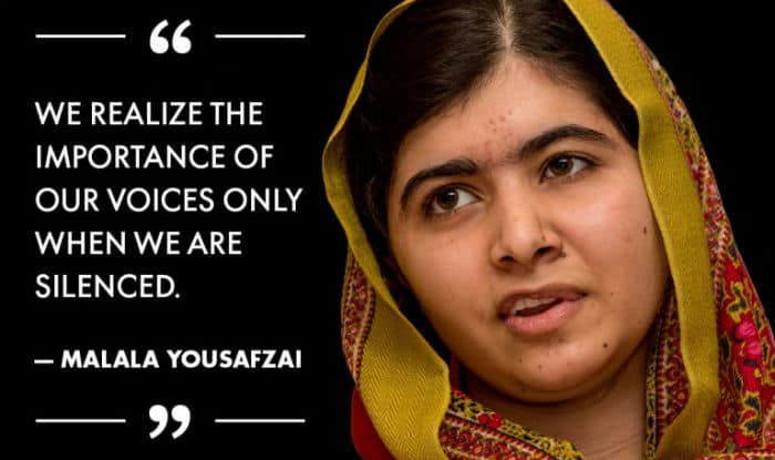 malala yousafzai quotes on education and women empowerment will