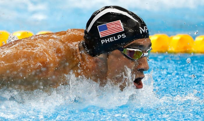Olympic Medallist Michael Phelps Loses Race Against Great White Shark, Watch Video