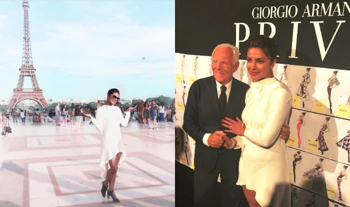 Priyanka Chopra at Paris Fashion Week  2017 in Pictures: Global Icon Meets Giorgio Armani And We Definitely Can't Keep Calm!