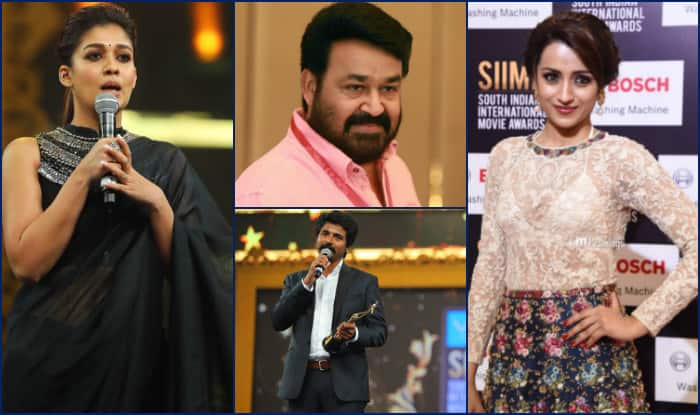 SIIMA 2017 winners: Mohanlal, Nayanthara, Sivakarthikeyan, Trisha Krishnan win big at the prestigious award ceremony!
