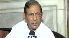 Sharad Yadav Continues Anti-Modi Fight Despite Nitish Kumar Swapping Allies
