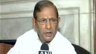 Sharad Yadav Continues Anti-Modi Fight Despite Nitish Kumar Swapping Allies