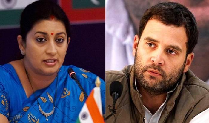 Smriti-Irani-vs-Rahul-Gandhi