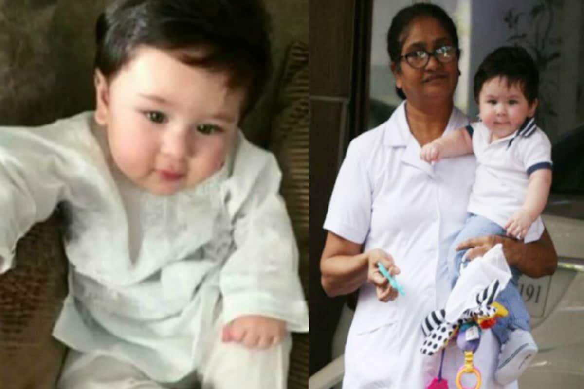 Chote Nawab Taimur Ali Khan Pataudi Looks Royal In This White Kurta Pyjama India Com