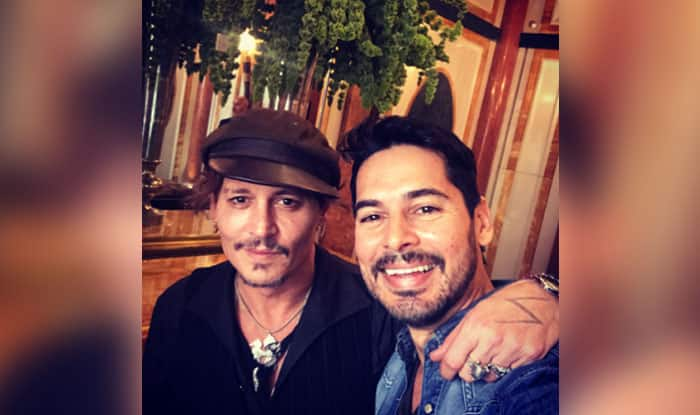 Dino Morea had a fanboy moment with Johnny Depp and we can't keep calm