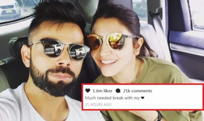 Virat Kohli's Selfie with 'Love' Anushka Sharma on Much-needed Break is Going Super Viral with Over 1.5 Millions Likes