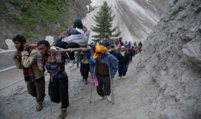 Amarnath Yatra 2019 Begins Amid Tight Security; 40,000 Security Personnel Deployed, Drone And CCTVs to Guard Route