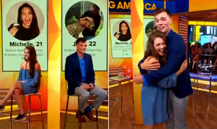 The Tinder Couple Who Spent 3 Years Talking to Each Other Finally Met On Good Morning America, Before Their Tinder Organized Date in Maui, Hawaii