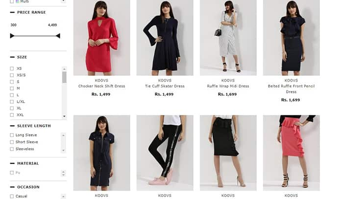 Top 10 Indian Fashion Websites For Shopping Trendy Clothes Online India Com
