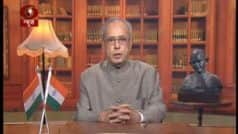 My Temple Has Been Parliament of India, My Passion Has Been Service of People, Says President Pranab Mukherjee in His Farewell Speech