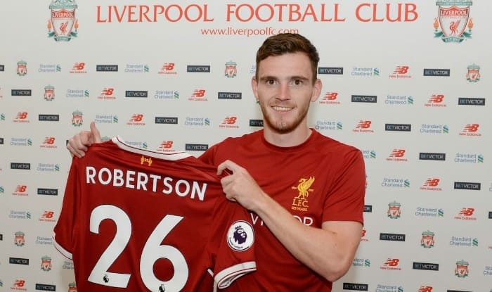 Liverpool Sign Defender Andrew Robertson From Hull City For £10m