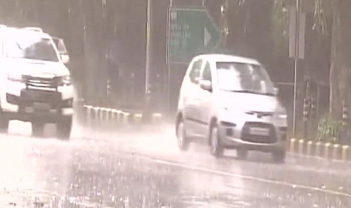 Monsoon 2017: Heavy Rains Lash Out in Central Delhi