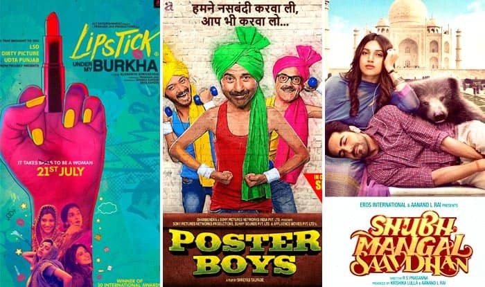 Shubh Mangal Saavdhan, Poster Boys, Lipstick Under My Burkha: When Bollywood Touched The Taboo Subjects
