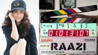 Amruta Khanvilkar to be seen in Karan Johar's next film 'Raazi' | करण जोहरच्या आगामी सिनेमात ही मराठमोळी अभिनेत्री !!