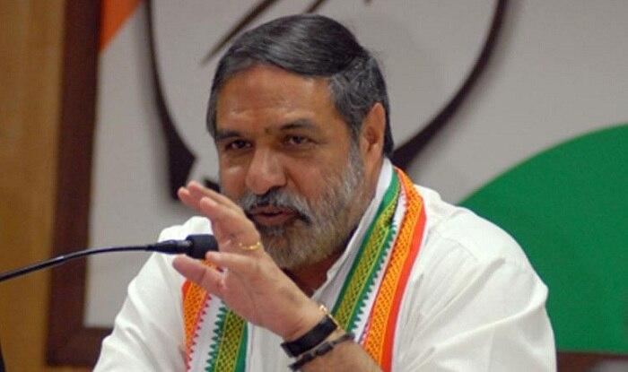 Congress MP Anand Sharma