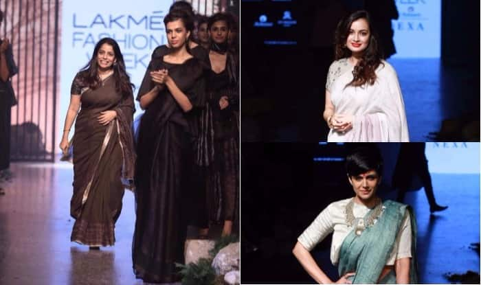 Lakme Fashion Week 2017 Day 2: Bollywood Beauties Dia Mirza, Kalki Koechlin, Mandira Bedi Set The Ramp On Fire For Designer Anavila Misra