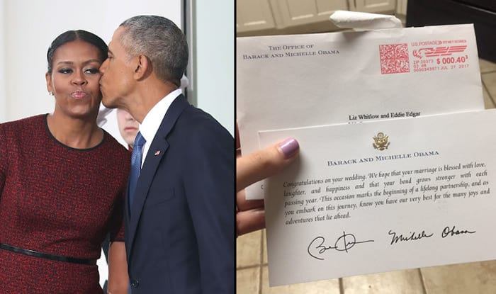 Barack and Michelle Obama Respond to Texas Woman's Wedding Invite With a Sweet Message