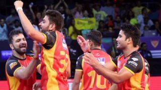 Gujarat Fortunegiants vs Dabang Delhi K.C PKL 5: Gujarat Open Their Account With 26-20 Win Against Delhi