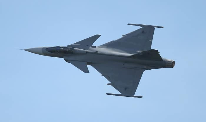 Saab to Partner With Adani For Manufacturing Gripen Aircraft Under