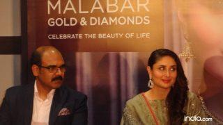Kareena Kapoor Khan attends a jewllery store launch in Delhi  |  छुट्टियां मनाने के बाद काम पर लौटी करीना कपूर खान, एक शोरूम लांच पर दिखा बेबो का मस्त-मस्त अंदाज