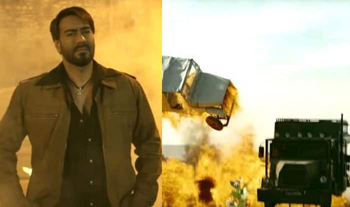 Ajay Devgn Escaped A Fatal Accident During A Stunt Shoot For Baadshaho