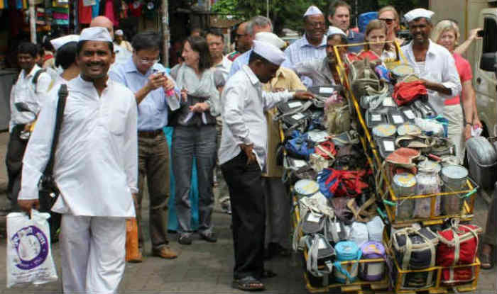 The dabbawalas of Mumbai
