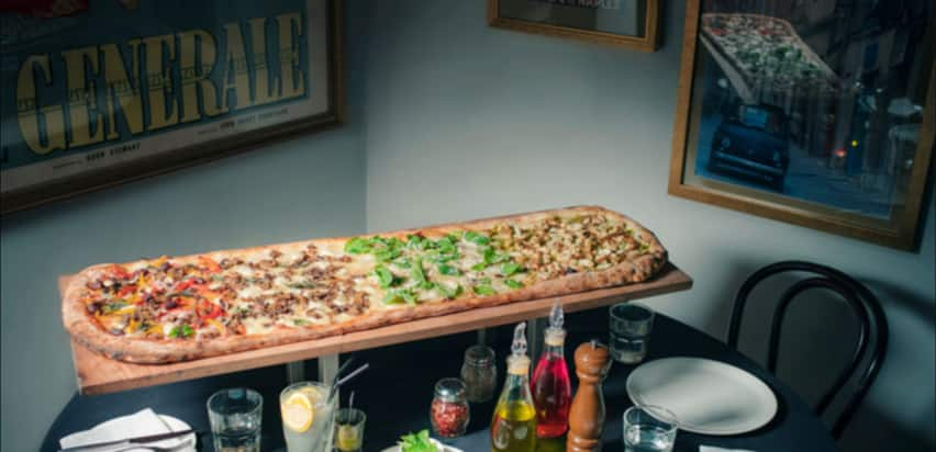 Rejoice Pizza Lovers! This Place In Mumbai Serves A Whopping 40 Inch Pizza!