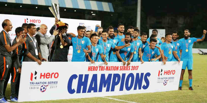 Year-Ender 2017: A Year To Remember For Indian Football