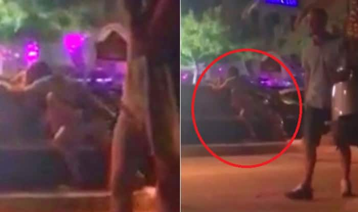 Naked Couple Caught Having Sex on a Bench of Croatian Tourist Resort: Watch X-rated Video