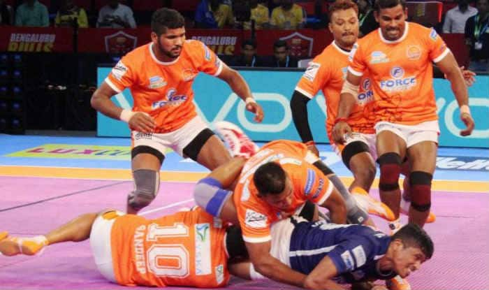 File image of Puneri Paltan.