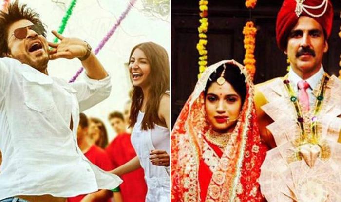 Akshay Kumar's Toilet: Ek Prem Katha BEATS Shah Rukh Khan's Jab Harry Met Sejal At the Box office On Day 2