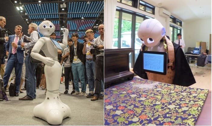 After Sex Robots & Helper Bots, Japan Introduces Robot Priest 'Pepper' to Perform Buddhist Funeral Rites