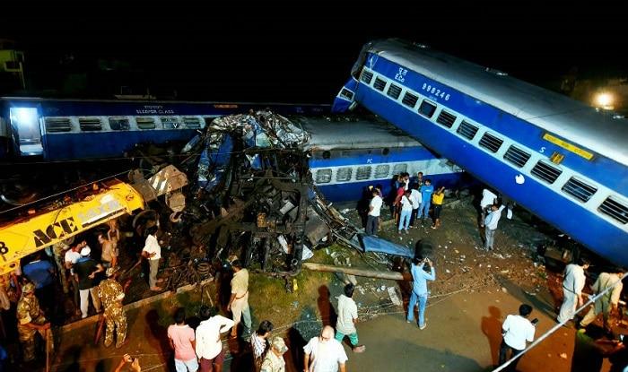 The Puri-Haridwar Utkal Express derailed on Saturday evening (image: PTI)