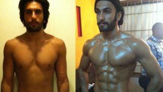 Ranveer Singh's Extreme Transformation Took Just 6 Weeks | रणबीर कपूर नंतर आता रणवीर सिंहच्या मस्कुलर बॉडीचे फोटोज आले समोर…..