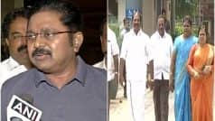 AIADMK Turmoil: Dinakaran Faction MLAs Meet EC, Move Madras HC to Conduct Floor Test in Tamil Nadu