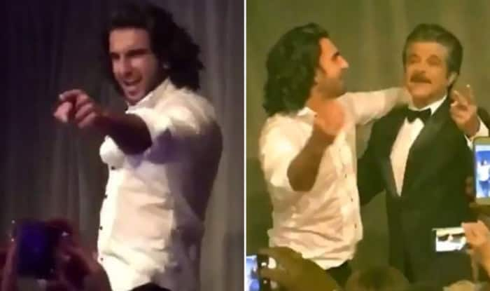 Ranveer Singh And Anil Kapoor Brought The Roof Down By Dancing To My Name Is Lakhan -Watch Videos