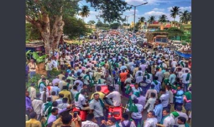 Bengaluru: Keep Your Promise or Leave, Agitating Farmers to PM Narendra Modi