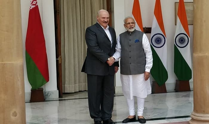 PM Narendra Modi Meets Belarus President Alexander Lukashenko, Says Will Encourage Joint Development in Defence Sector