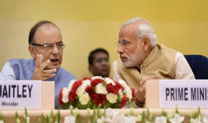 Finance Minister Arun Jaitley (left) met PM Modi (right) [File image/PTI]