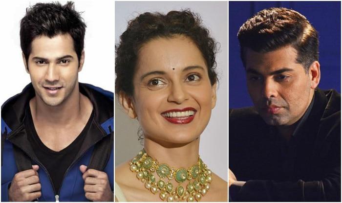 Nepotism Debate: Varun Dhawan Comes In Support Of Kangana Ranaut, Will Karan Johar Be Miffed?