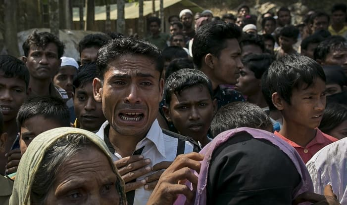 Rohingya Muslims(Photo credit: Getty images)